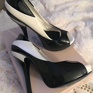 Peep Toe High Heels!!